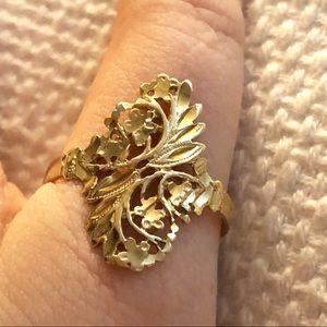 KC Designs 14k gold ring size 11.5